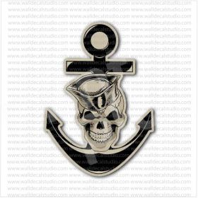From 4 50 Buy Usn United States Us Navy Anchor Skull
