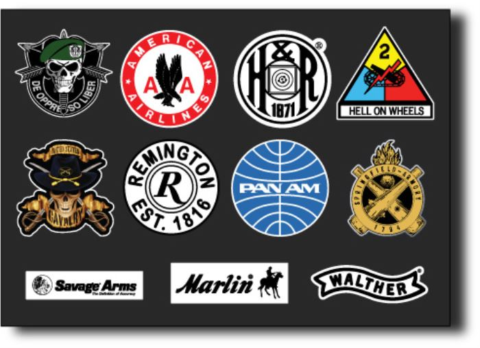 Military stickers/Marine stickers/Army unit stickers/Marine