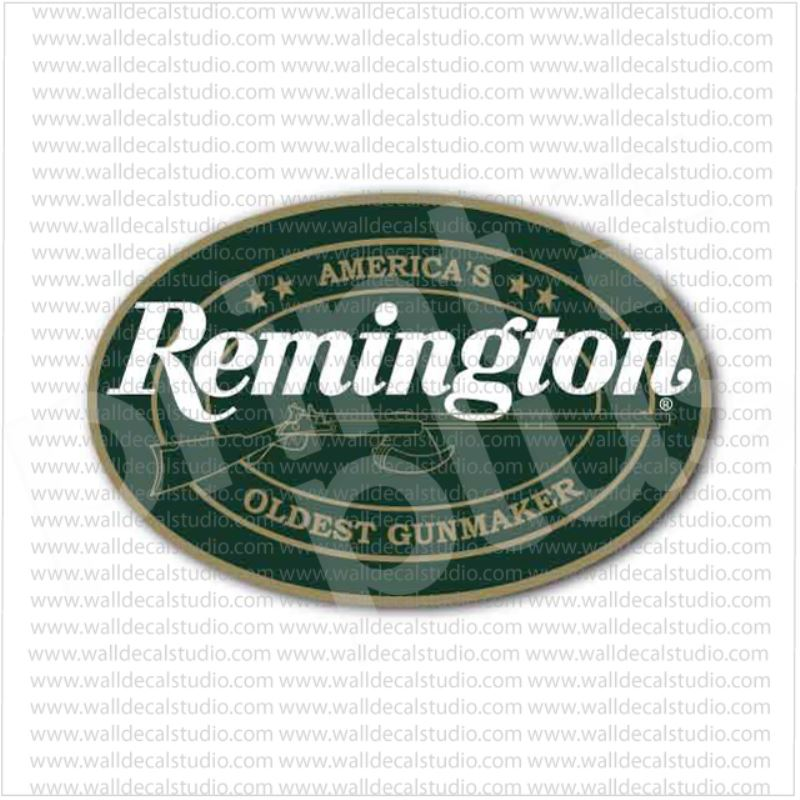 From $4.50 Buy Remington Arms Firearms Gunmaker Emblem Sticker At Print Plus In Stickers Army