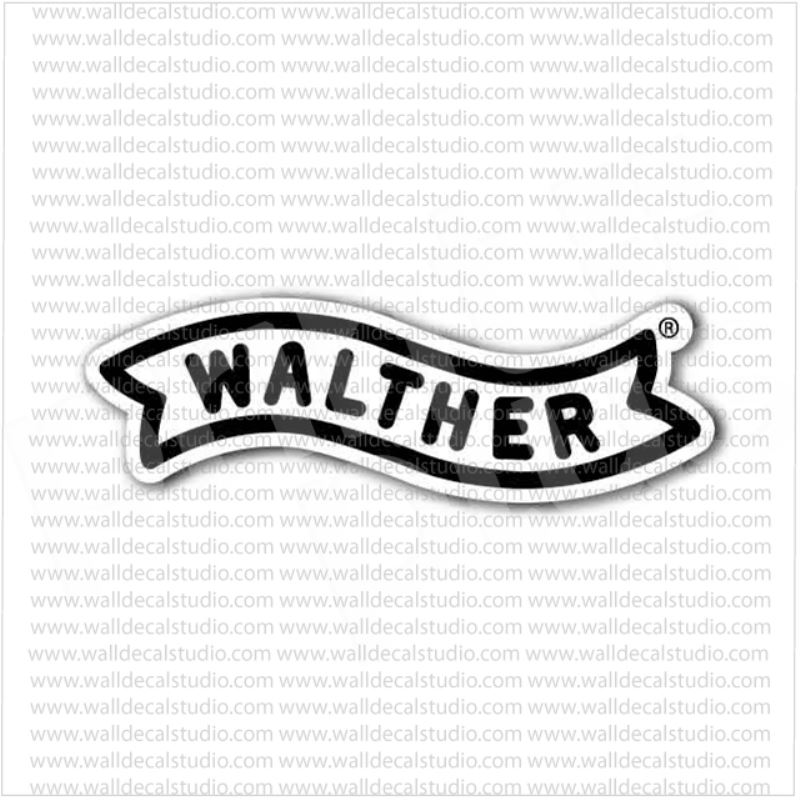 From $4.50 Buy Walther Arms Firearms Emblem Sticker At