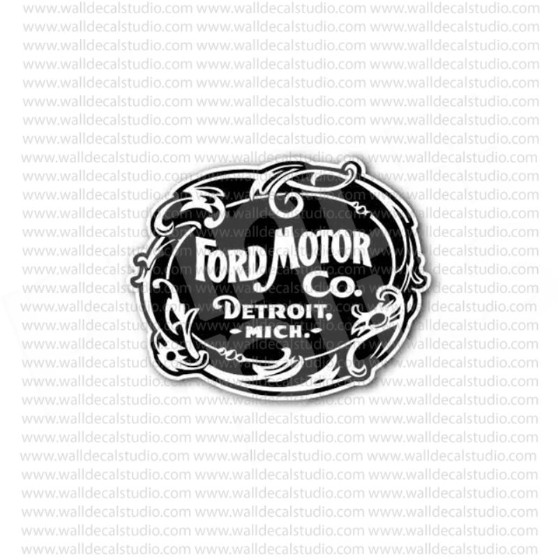 From buy ford motor company detroit mich sticker at for Ford motor company credit card