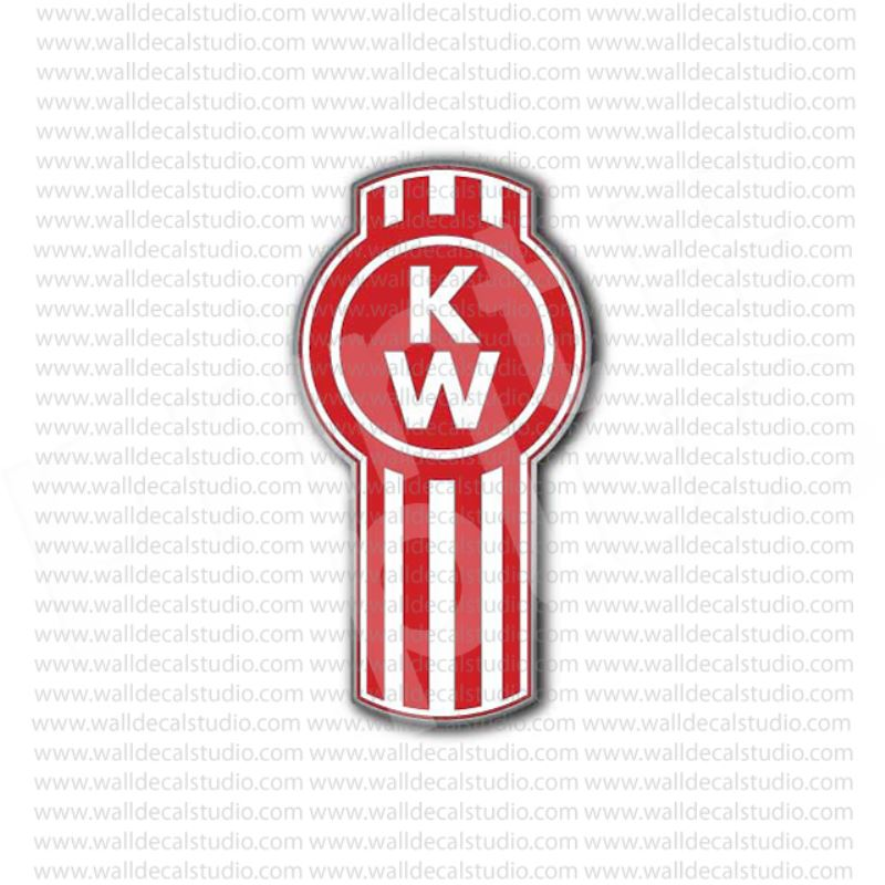 From $4.50 Buy Kenworth Trucks Emblem Sticker at Print ...