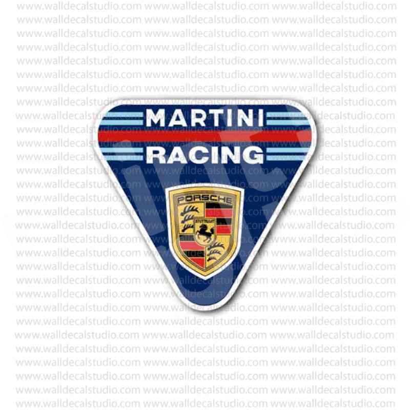 from 4 50 buy martini racing porsche emblem sticker at print plus in stickers automotive at print plus print plus