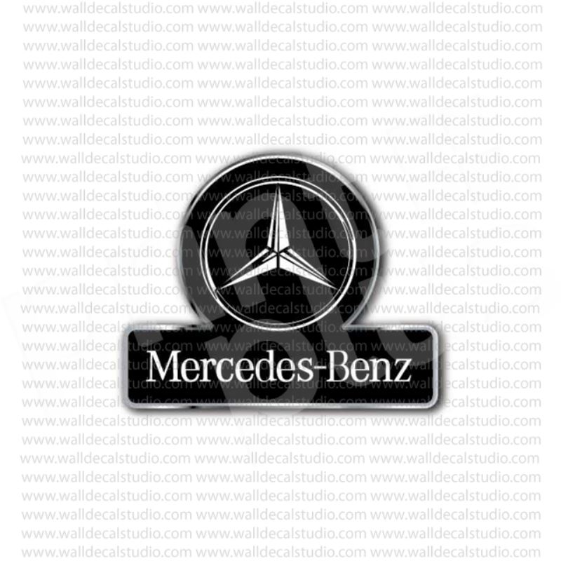 From $4.50 Buy Mercedes Benz Emblem Sign Sticker At Print
