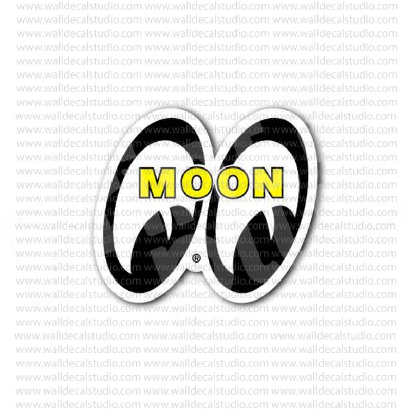 From 4 50 Buy Mooneyes Hot Rod Racing Sticker At Print