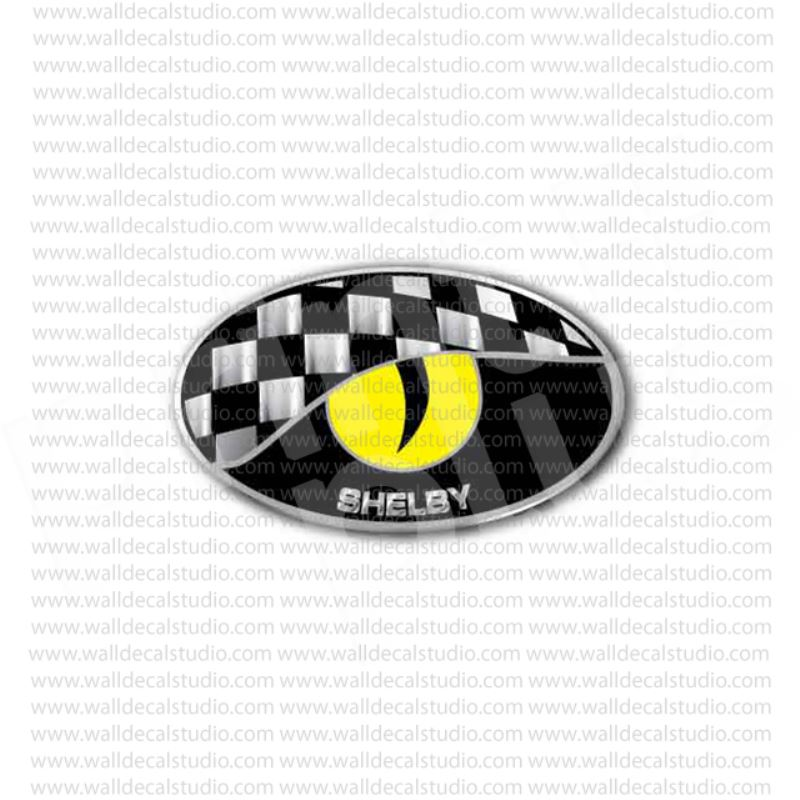 Shelby eye cobra ford mustang racing sticker
