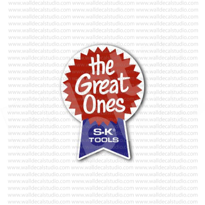 From 4 50 Buy S K Tools The Great Ones Vintage Sticker At