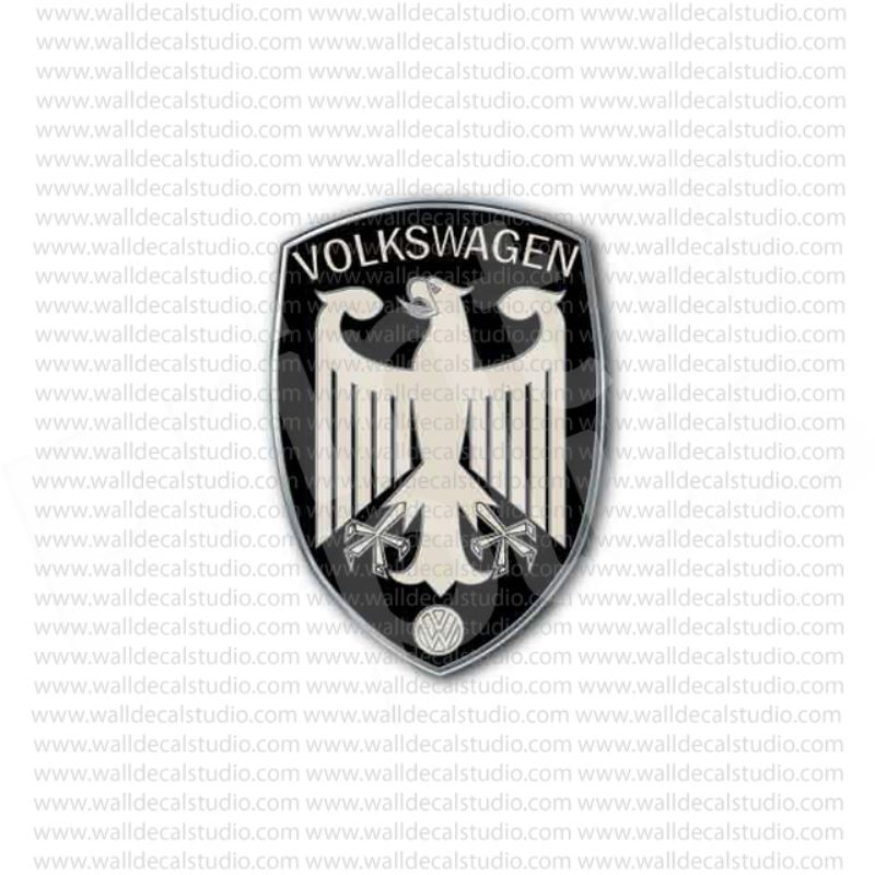 Volkswagen vw eagle german emblem sticker