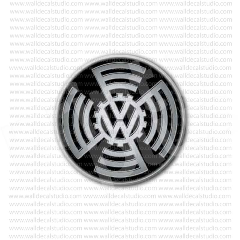 From 450 Buy Vw Volkswagen Old Emblem Sticker At Print Plus In