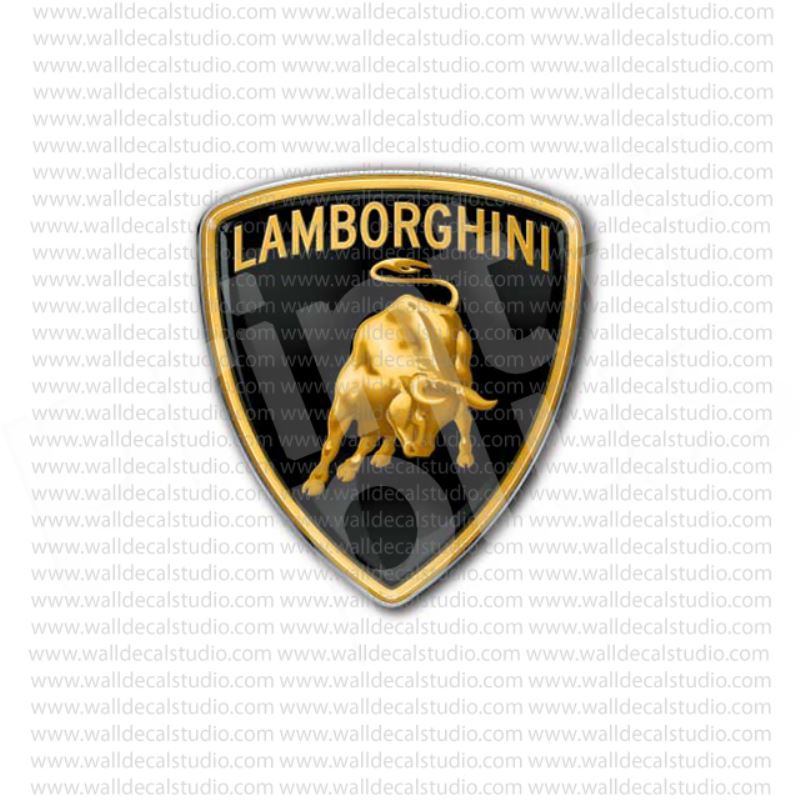 From 4 50 Buy Lamborghini Italian Sport Cars Emblem Sticker At