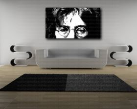 Giclee Print John Lennon Canvas Home Wall Art