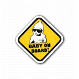 Baby On Board Sign Warning Sticker