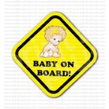 Baby on Board Warning Sign Sticker