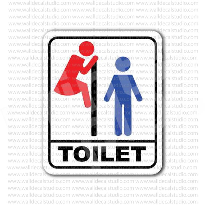 Boat Bathroom Signs: From $4.00 Buy Men Toilet Bathroom Restroom Funny Sign
