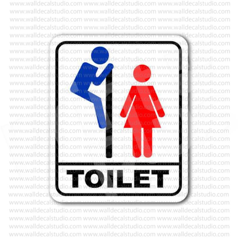 from 4 00 buy women girls toilet bathroom restroom sign sticker at