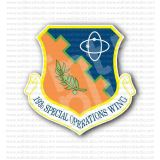193d Special Operations Wing Sticker