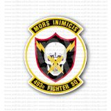 493rd Fighter Squadron Mors Inimicis Sticker