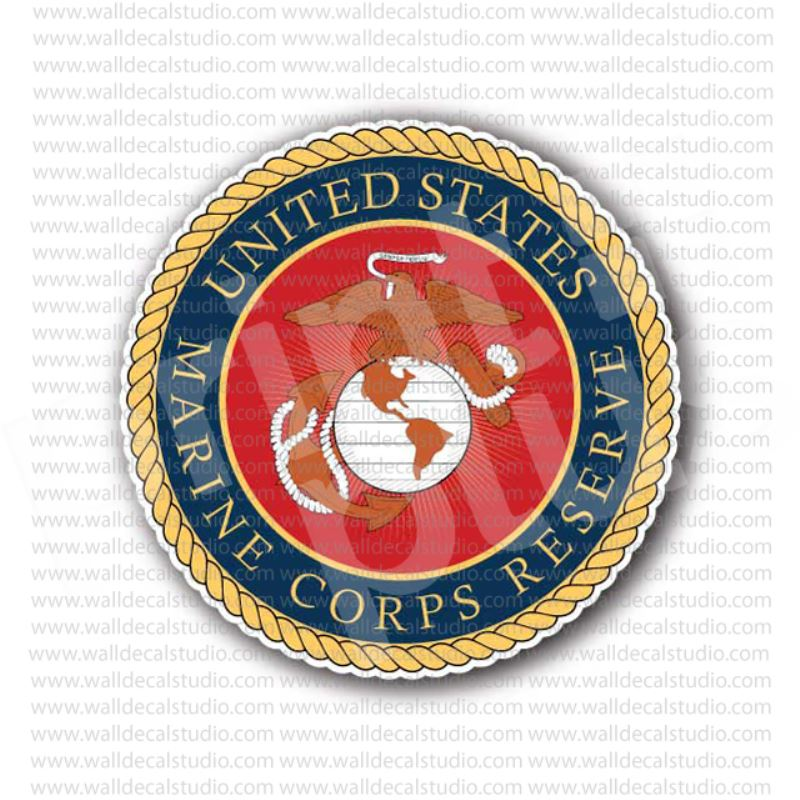 United States Marine Corps Clear Decal