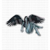 Dark Angel Girl Sticker