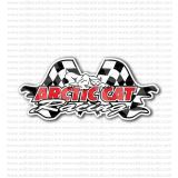 Arctic Cat Racing Snowmobiles Sticker