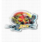 BMX Racing Bikes Bike Emblem Sticker