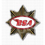 BSA Motorcycles Old Emblem Sticker