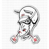 Bell Horse Racing Helmet Sticker