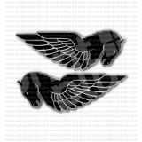 Buell Motorcycle Horse Vintage Emblem Sticker Set