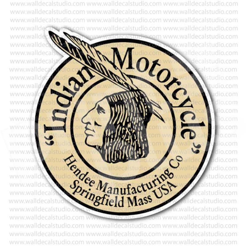 Old Indian Motorcycle Decals