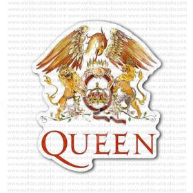 From 4 50 Buy The Queen Rock Band Sticker At Print Plus