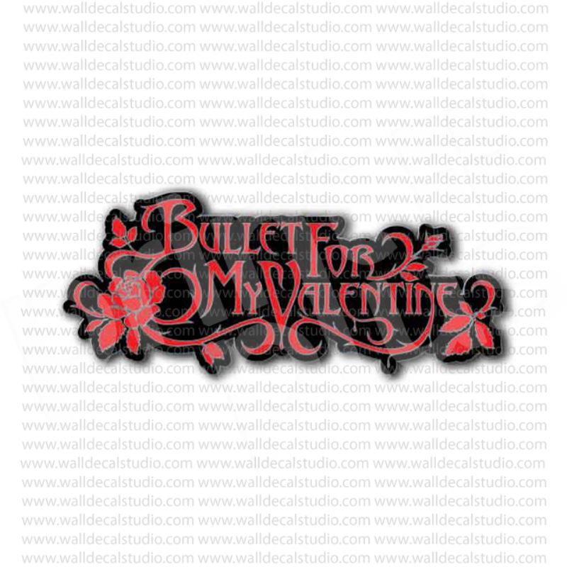 Bullet for my valentine heavy metal band sticker