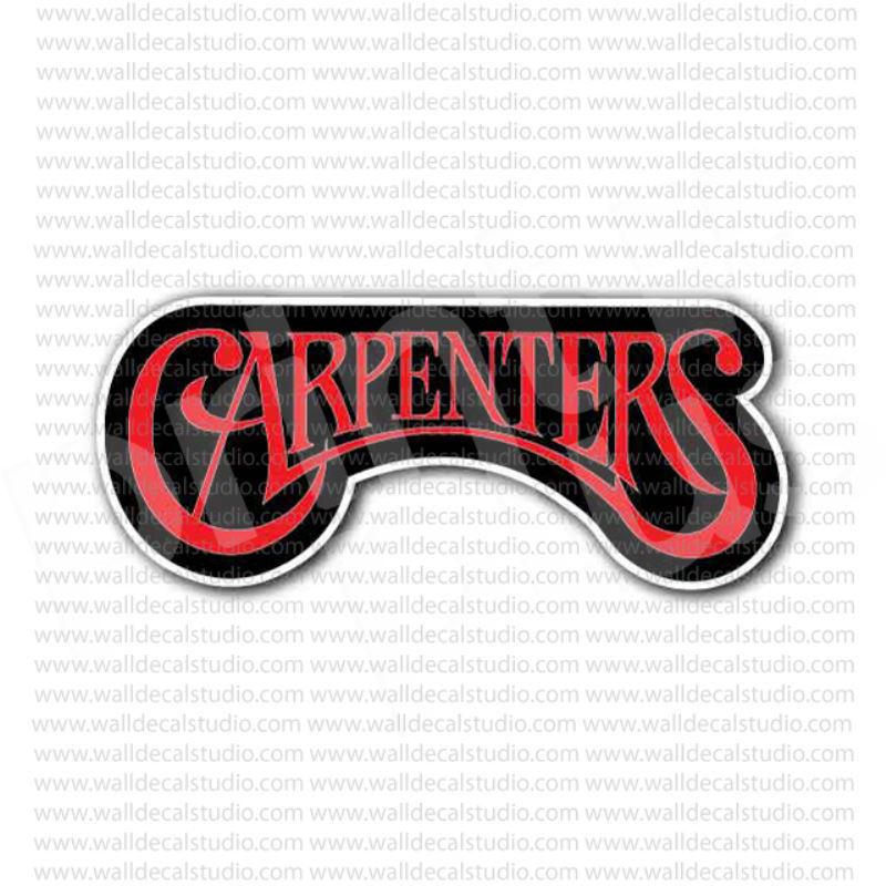 The carpenters pop rock band sticker