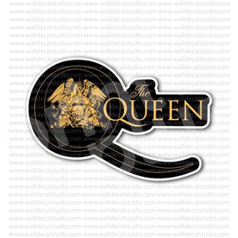The queen q rock band sticker