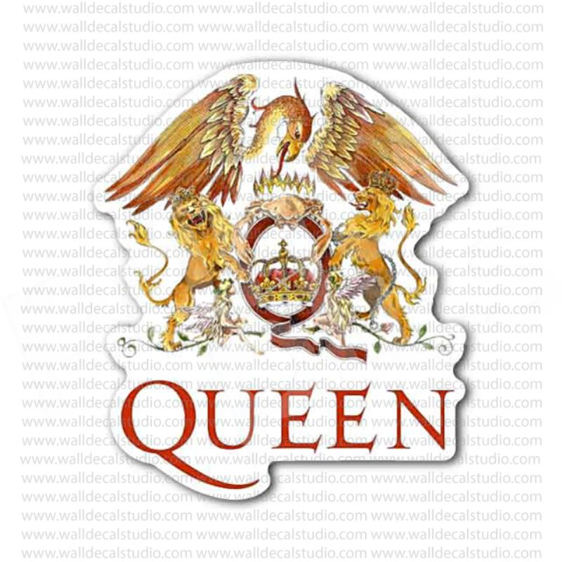 The queen rock band sticker