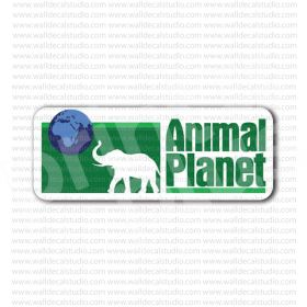 Animal Planet Channel Sign Sticker