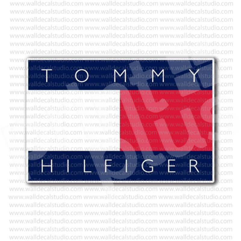 From 4 50 Buy Tommy Hilfiger Label Sticker At Print Plus