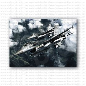 F-16 Fighting Falcon Thunderbirds Poster