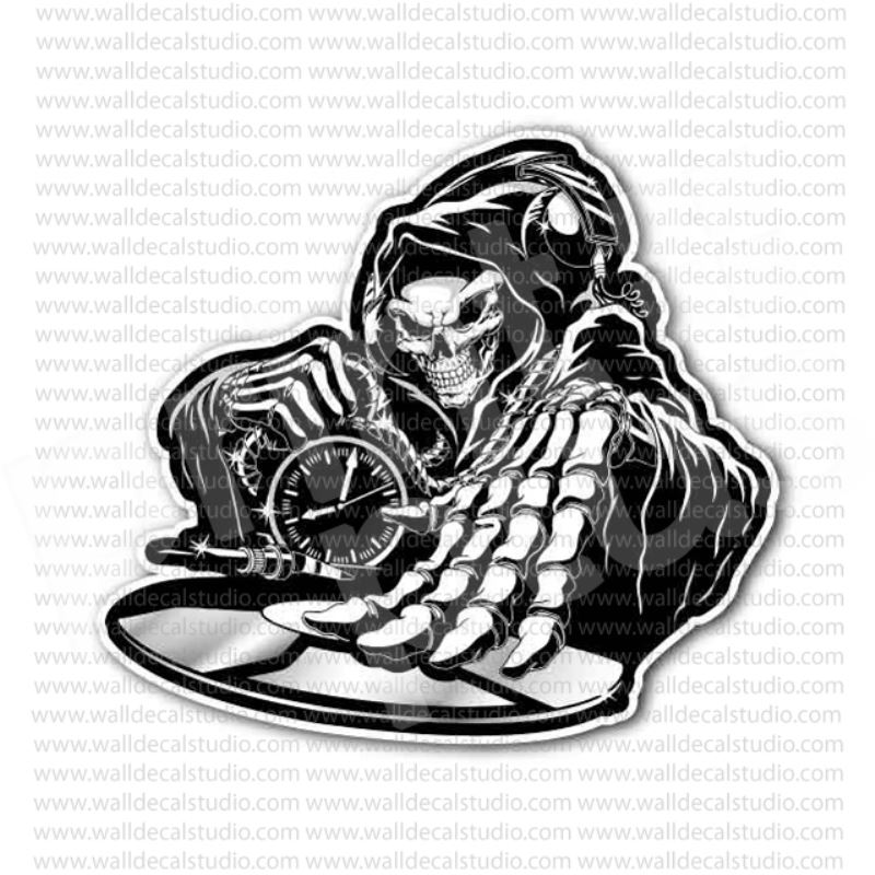 From 4 00 Buy Music Dj Skull Sticker At Print Plus In