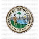 Great Seal of the State of Florida Sticker
