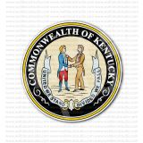 Commonwealth of Kentucky Seal Sticker