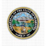 Great Seal of the State of Nebraska Sticker